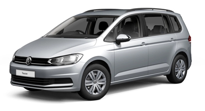 Volkswagen Touran - Available in Reflex Silver Metallic