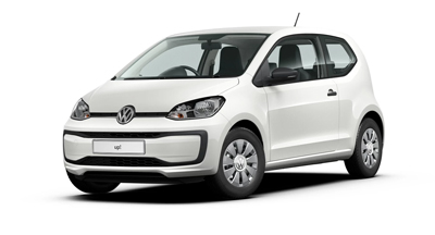 Volkswagen Up - Available in Candy White