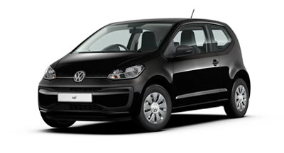 Volkswagen Up - Available in Deep Black Pearl