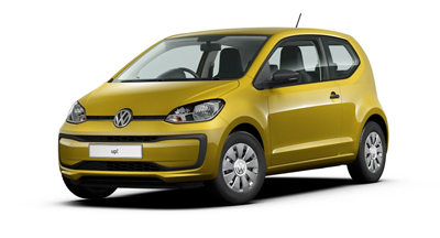 Volkswagen Up - Available in Honey Yellow Metallic