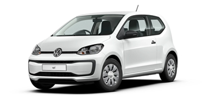 Volkswagen Up - Available in Pure White