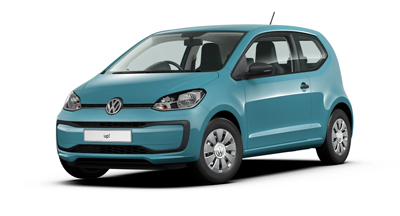 Volkswagen Up - Available in Teal Blue