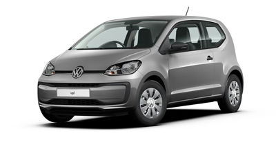 Volkswagen Up - Available in Tungsten Silver Metallic