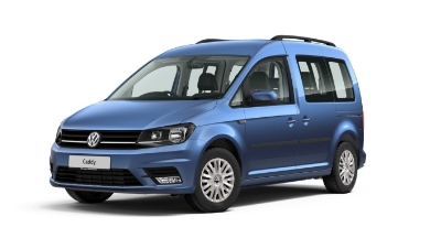 Volkswagen Caddy Life - Available In Alcapulco Blue