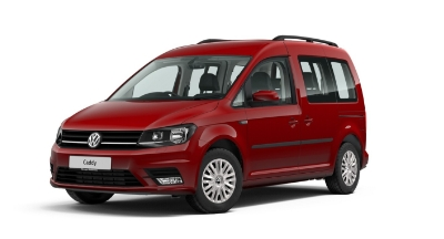 Volkswagen Caddy Life - Available In Cherry Red