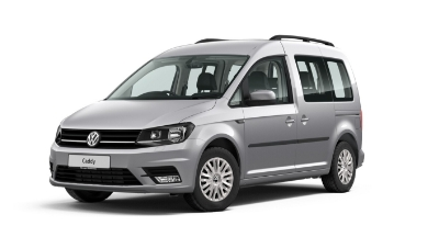 Volkswagen Caddy Life - Available In Reflex Silver