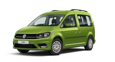 Volkswagen Caddy Life - Available In Viper Green