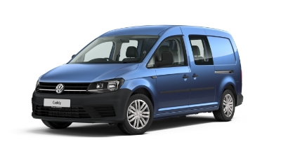 Volkswagen Caddy Maxi Kombi - Available In Alcapulco Blue