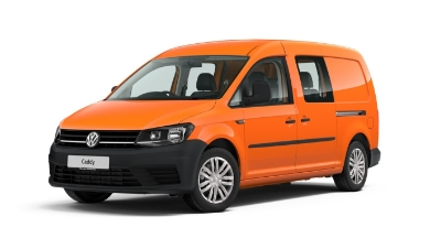 Volkswagen Caddy Maxi Kombi - Available In Bright Orange