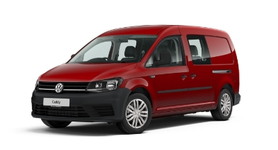 Volkswagen Caddy Maxi Kombi - Available In Cherry Red