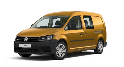 Volkswagen Caddy Maxi Kombi - Available In Sandstorm Yellow