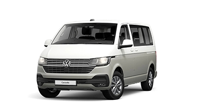 Volkswagen Caravelle - Available In Candy White/Ascot Grey