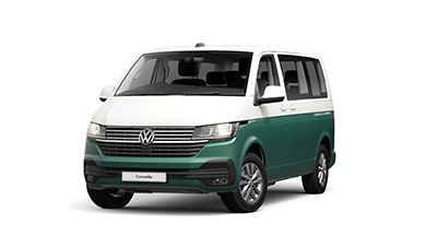 Volkswagen Caravelle - Available In Candy White/ Bay Leaf Green Metallic