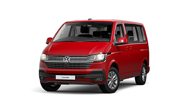 Volkswagen Caravelle - Available In Cherry Red
