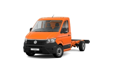 Volkswagen Crafter Dropside - Available In Bright Orange