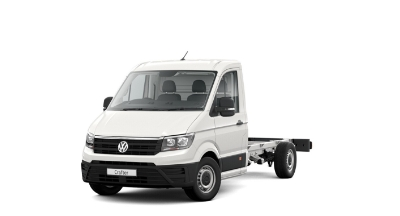 Volkswagen Crafter Dropside - Available In Candy White