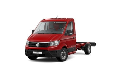 Volkswagen Crafter Dropside - Available In Cherry Red