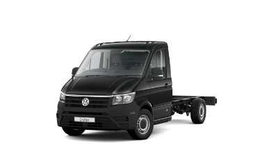 Volkswagen Crafter Dropside - Available In Deep Black Pearl