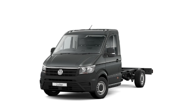 Volkswagen Crafter Dropside - Available In Indium Grey