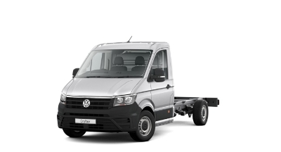 Volkswagen Crafter Dropside - Available In Reflex Silver