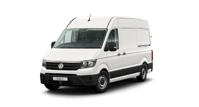 Volkswagen Crafter - Available In Candy White