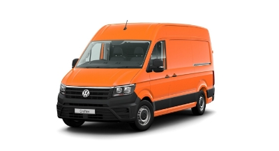 Volkswagen Crafter - Available In Bright Orange