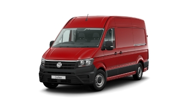 Volkswagen Crafter - Available In Cherry Red