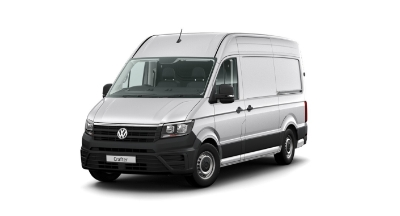Volkswagen Crafter - Available In Reflex Silver