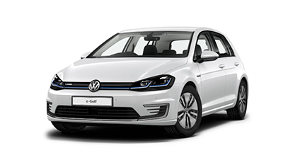 Volkswagen E Golf - Available In Oryx White Mother-of-Pearl