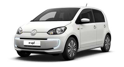 Volkswagen e-up - Available in Pure White