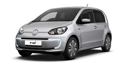 Volkswagen e-up - Available in Reflex Silver