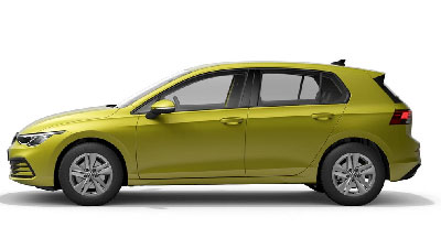 Volkswagen Golf 8 - Available In Lime Yellow