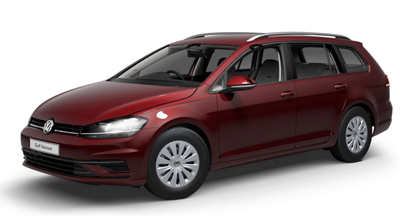 Volkswagen Golf Estate - Available in Cranberry Red Metallic