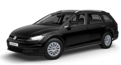 Volkswagen Golf Estate - Available in Deep Black Pearl