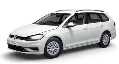Volkswagen Golf Estate - Available in Pure White