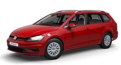 Volkswagen Golf Estate - Available in Tornado Red