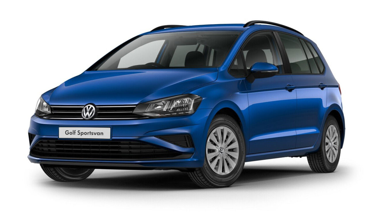 Volkswagen Golf SV - Atlantic Blue Metallic