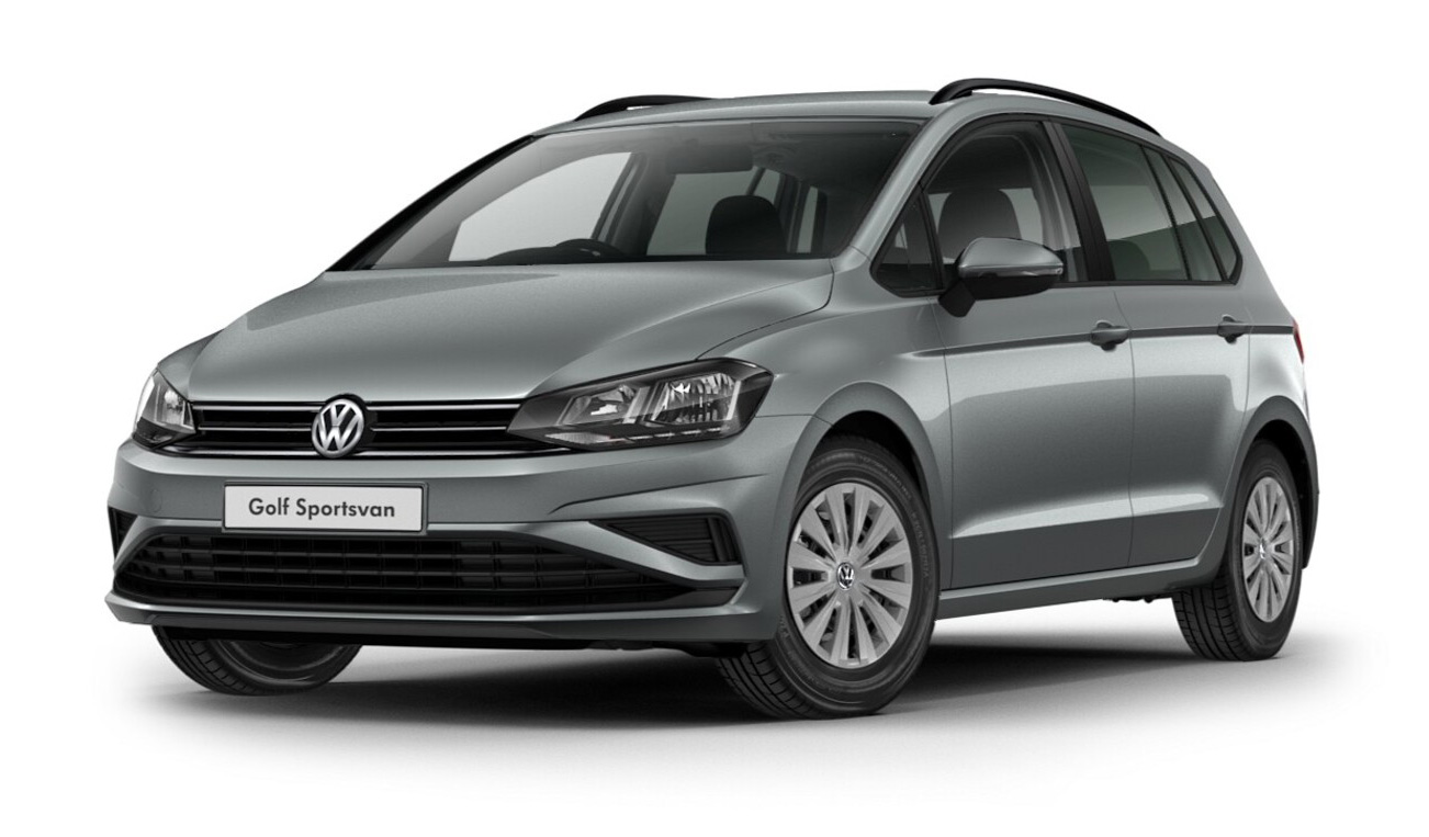 Volkswagen Golf SV - Available in Indium Grey Metallic