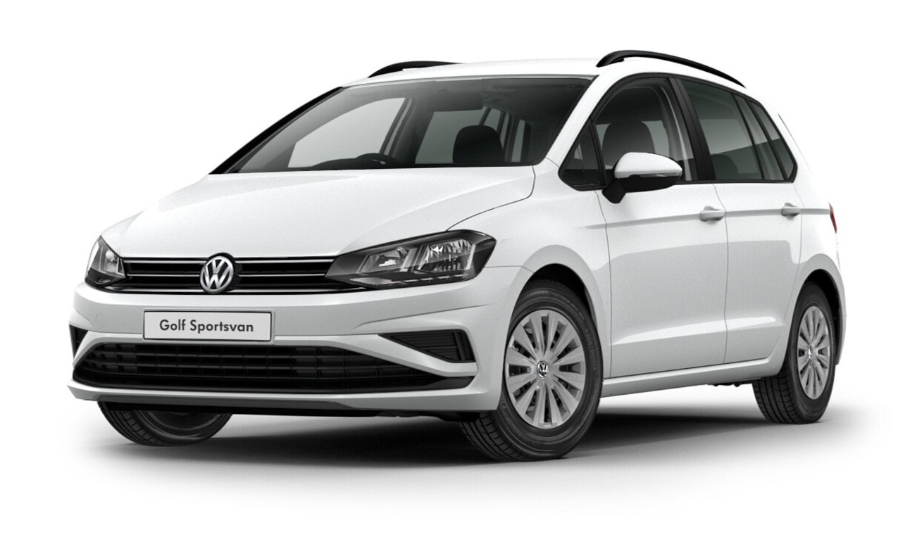 Volkswagen Golf SV - Available in Pure White