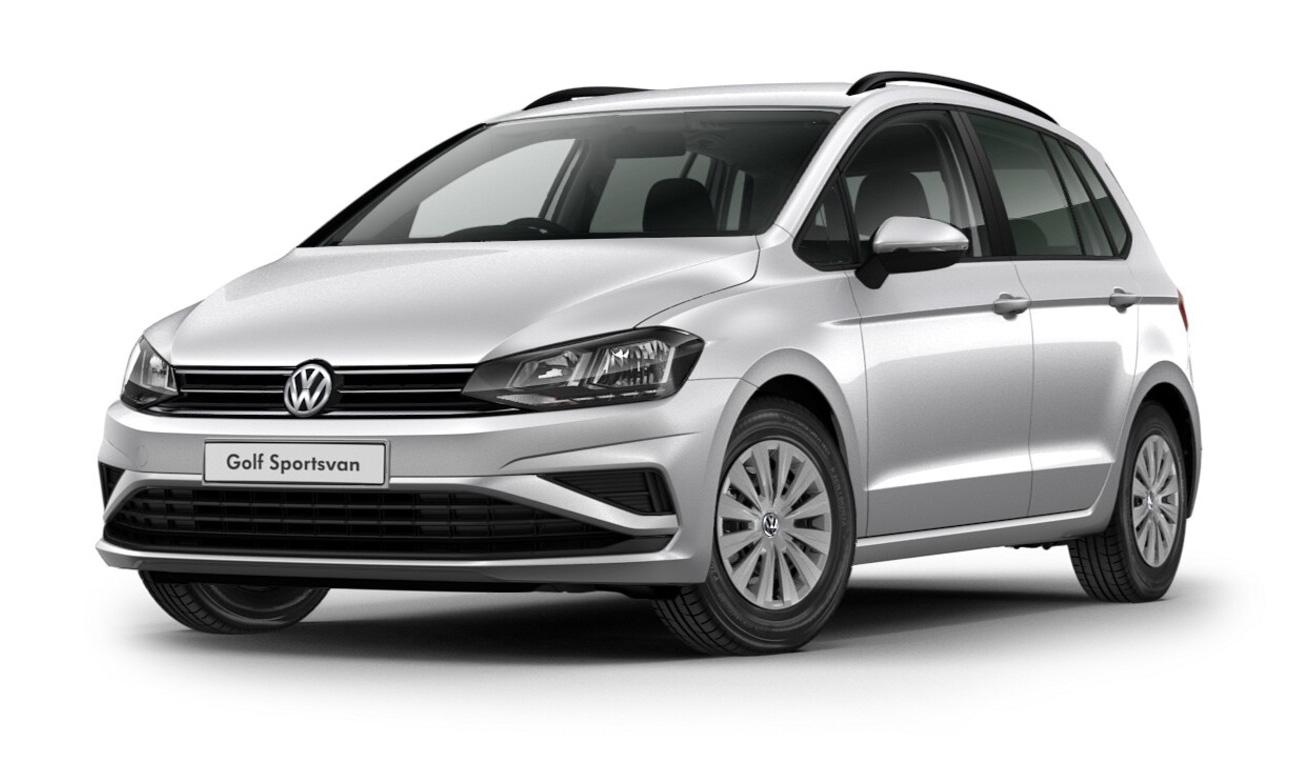 Volkswagen Golf SV - Available in Reflex Silver Metallic