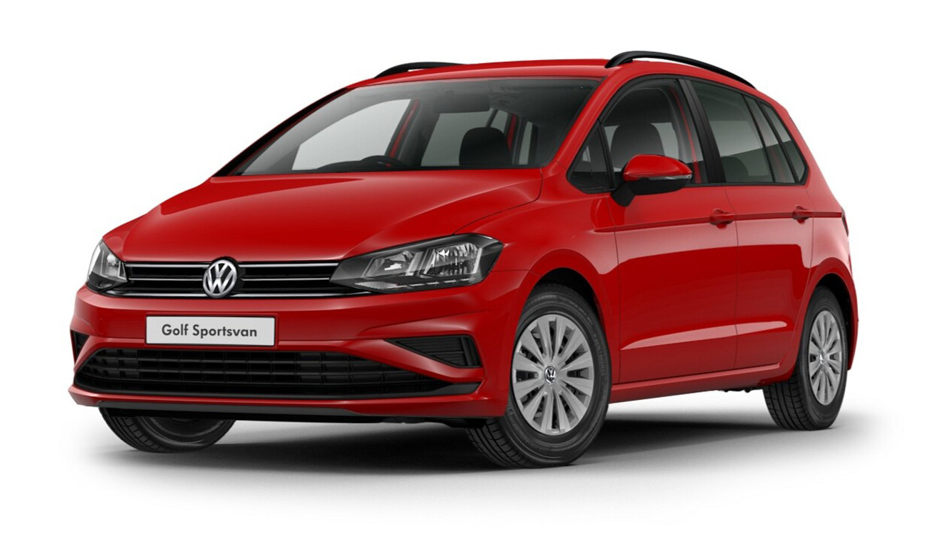 Volkswagen Golf SV - Available in Tornado Red