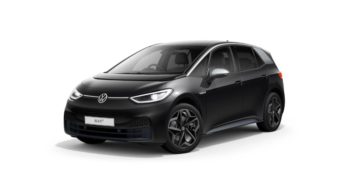 Volkswagen id.3 - Available in Manganese Grey Metallic Flat Black