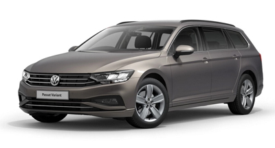 Volkswagen Passat Estate - Available in Aurora Gold
