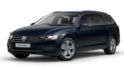 Volkswagen Passat Estate - Available in Aquamarine Blue Metallic
