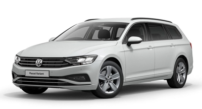 Volkswagen Passat Estate - Available in Oryx White Mother-of-Pearl