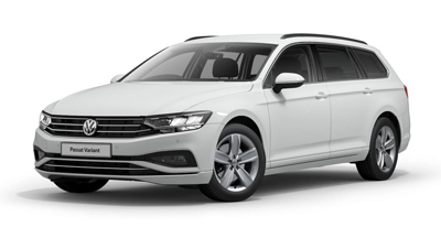 Volkswagen Passat Estate - Available in Pure White