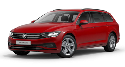 Volkswagen Passat Estate - Available in Tornado Red
