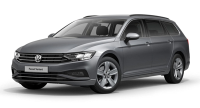 Volkswagen Passat Estate - Available in Pyrite Silver Metallic