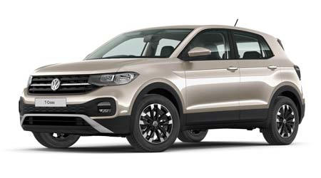 Volkswagen T Cross - Available In Champagne Silver Metallic