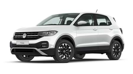 Volkswagen T Cross - Available In Pure White